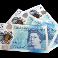 New British Five Pount Note - How much can you borrow on mortgage